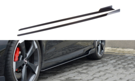 AUDI RS3 8V FL SPORTBACK RACING SIDE SKIRTS DIFFUSERS V.2