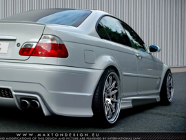 BMW 3 E46 - 4 DOOR SALOON SIDE SKIRTS < GENERATION V >