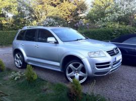 VW TOUAREG FENDERS EXTENSIONS