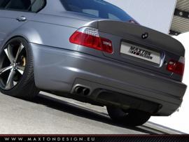 BMW 3 E46 - 4 DOOR SALOON REAR SPOILER / LID EXTENSION < M3 CSL LOOK >