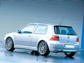 VW GOLF IV 25'TH ANNIVERSARY LOOK REAR BUMPER EXTENSION