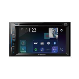 Pioneer AVH-A3100DAB Autoradio 2DIN AV DVD speler met Bluetooth handsfree en streaming, DAB
