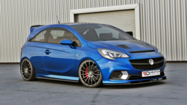 OPEL CORSA E OPC/VXR SIDE SKIRTS DIFFUSERS
