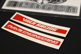 Volk Racing SL Series Replacement Rim Sticker Set