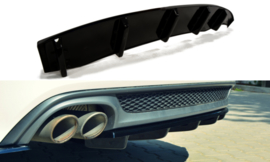 AUDI A6 C7 S-LINE AVANT CENTRAL REAR SPLITTER