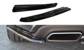 MERCEDES CLS C218 REAR SIDE SPLITTERS