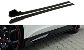 HONDA CIVIC IX TYPE R SIDE SKIRTS DIFFUSERS
