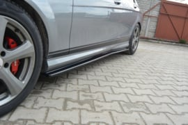 MERCEDES C W204 SIDE SKIRTS DIFFUSERS