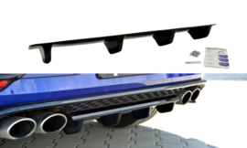 VW GOLF VII R CENTRAL REAR SPLITTER
