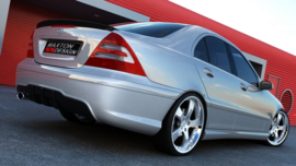 MERCEDES C W203 REAR BUMPER < AMG 204 LOOK>
