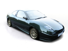 FIAT COUPE FRONT SIDE BUMPER SPOILERS / LIPS