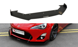 TOYOTA GT86 FRONT RACING SPLITTER  (with wings)