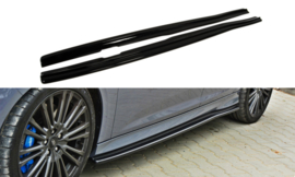 FORD FOCUS 3 RS SIDE SKIRTS DIFFUSERS