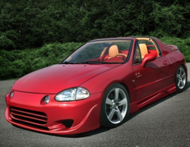 HONDA CRX DEL SOL SIDE SKIRTS < INFERNO >