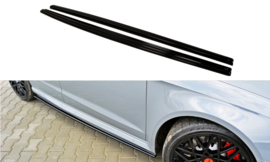 AUDI RS3 8VA SIDE SKIRTS DIFFUSERS