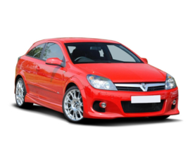OPEL ASTRA H FRONT BUMPER