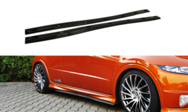 HONDA CIVIC VIII TYPE S/R SIDE SKIRTS DIFFUSERS