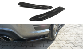 MERCEDES C W204 REAR SIDE SPLITTERS