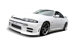 NISSAN SKYLINE R33 GTS FRONT BUMPER