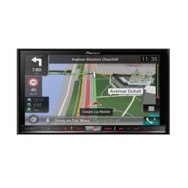 Pioneer AVIC-F80DAB 2 DIN DVD Navigatie. Navi uitgebreide functionaliteit met Naviextras en Navisync, DAB-tuner, CarPlay en Android Auto