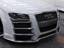 AUDI TT MK1 EYEBROWS < R8 LOOK > FIT FOR STANDARD BUMPER