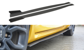 RENAULT MEGANE MK3 RS SIDE SKIRTS DIFFUSERS
