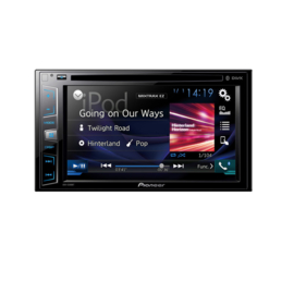 Pioneer AVH-X390BT Autoradio 2DIN AV DVD-speler met Bluetooth handsfree en streaming, USB, Spotify control