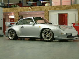 PORSCHE 911 TURBO SERIES 993 FENDERS EXTENSIONS