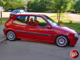 CITROEN  SAXO SIDE SKIRTS < AF >