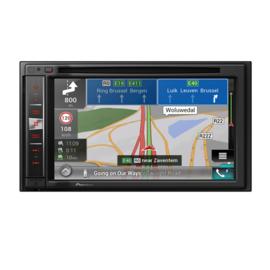Pioneer AVIC-F980BT 2 DIN DVD Navigatie, CarPlay goedgekeurd, dual camera inp.
