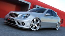 Mercedes C-Class W203 FRONT SPLITTER