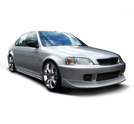 HONDA CIVIC VI FRONT BUMPER SPOILER (FACELIFT MODEL)