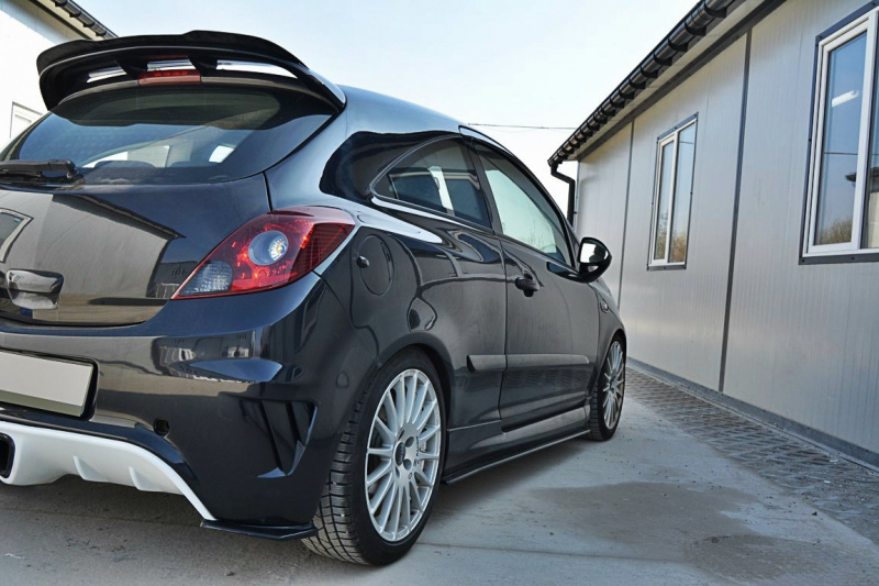 Opel Corsa D Opc Side Skirts Diffusers Corsa D Bpp Tuning