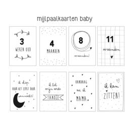 Mijlpaalkaarten baby NL