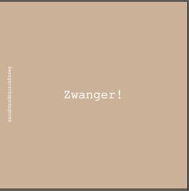 Zwangerschapsdagboek - linnen cover