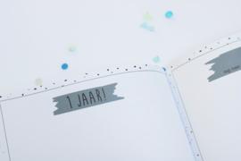 Babyboek - hardcover / roze of blauw