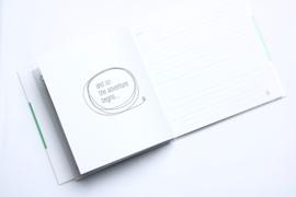 Kinderwens dagboek - hardcover groen