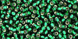 tr-11-36 Silver-Lined Green Emerald