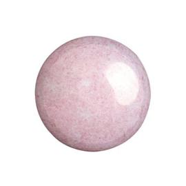 pcab-006 Opaque Light Rose Ceramic Look 18mm cabochon 03000/14494