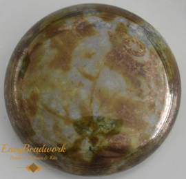 gc-002 Glas Cabochon Grijs/Bronze 25mm