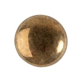pcab-017 Dark Gold Bronze 18mm Cabochon 23980/14485