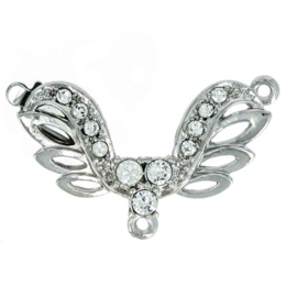cl-027 Luxe Sluiting Rhodium Plated 37x28mm
