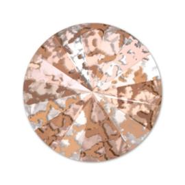 swriv-1427 Crystal Rose Patina