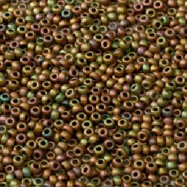 8-2035 Metallic Khaki Iris Mat
