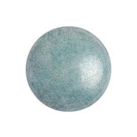 pcab-007 Opaque Blue Ceramic Look 18mm cabochon 03000/14464