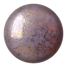 pcab-002 Opaque Amethyst Bronze 18mm Cabochon 73030-15496