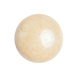 pcab-014 Opaque Beige Ceramic Look 18mm cabochon 03000/14413