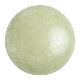 pcab-040 Opaque Light Green Ceramic Look 25mm cabochon 03000/14457