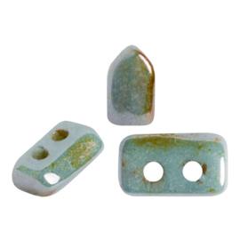 pi-004 Opaque Mix Blue/Green Ceramic Look Piros® 03000/65431