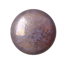 pcab-002 Opaque Amethyst Bronze 18mm Cabochon 73030-15496